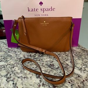 NWT Authentic Kate Spade Leather crossbody